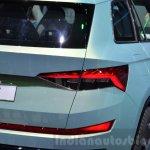 Skoda VisionS SUV concept taillamp 2016 Geneva Motor Show Live
