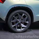 Skoda VisionS SUV concept wheel at the 2016 Geneva Motor Show