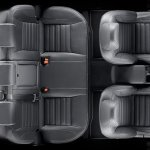 SsangYong Tivoli Air cabin top view
