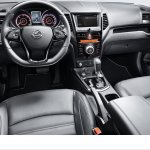 SsangYong Tivoli Air dashboard