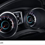 SsangYong Tivoli Air instrument panel