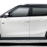 SsangYong Tivoli Air side profile