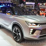 Ssangyong SIV-2 Concept front three quarters left at the 2016 Geneva Motor Show