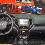 Ssangyong XLV dashboard at Geneva Motor Show 2016
