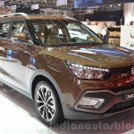 Ssangyong XLV front three quarters left at Geneva Motor Show 2016
