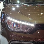 Ssangyong XLV headlamp at Geneva Motor Show 2016