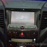 Ssangyong XLV infotainment at Geneva Motor Show 2016