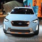 Subaru XV Concept front at the Geneva Motor Show Live