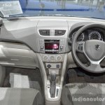 Suzuki Ertiga Dreza dashboard at 2016 BIMS