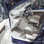 Suzuki Ertiga Dreza front seat at 2016 BIMS
