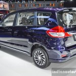 Suzuki Ertiga Dreza rear quarter at 2016 BIMS