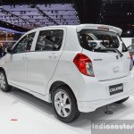 Suzuki (Maruti) Celerio with body kit rear quarter at the 2016 BIMS
