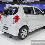 Suzuki (Maruti) Celerio with body kit rear three quarter at the 2016 BIMS