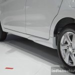 Suzuki (Maruti) Celerio with body kit side sill extensions at the 2016 BIMS