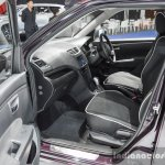 Suzuki Swift Sai edition front seat at 2016 BIMS