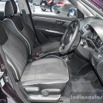 Suzuki Swift Sai edition front seats at 2016 BIMS