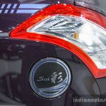 Suzuki Swift Sai edition fuel cap lid at 2016 BIMS