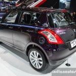 Suzuki Swift Sai edition rear quarters at 2016 BIMS