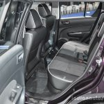 Suzuki Swift Sai edition rear seat at 2016 BIMS