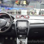 Suzuki Vitara S with 1.4L Boosterjet dashboard at Geneva Motor Show 2016