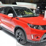 Suzuki Vitara S with 1.4L Boosterjet front three quarter at Geneva Motor Show 2016