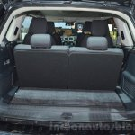 Tata Hexa Tuff boot space at the 2016 Geneva Motor Show