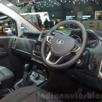 Tata Hexa Tuff cabin at the 2016 Geneva Motor Show