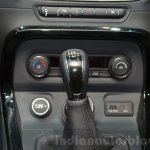 Tata Hexa Tuff gear knob at the 2016 Geneva Motor Show