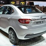 Tata KITE 5 rear quarter at the 2016 Geneva Motor Show