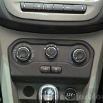 Tata Tiago HVAC controls at Geneva Motor Show 2016