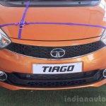 Tata Tiago at dealership