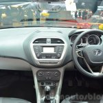 Tata Tiago dashboard at Geneva Motor Show 2016