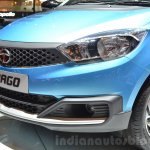 Tata Tiago headlamp and grille at Geneva Motor Show 2016