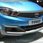 Tata Tiago nose at Geneva Motor Show 2016
