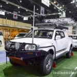 Tata Xenon 150 N-Xplore with Off-Road kit front quarter 2016 BIMS