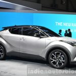 Toyota C-HR alloy wheels at 2016 Geneva Motor Show