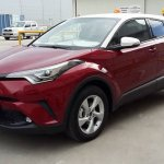 Toyota C-HR front quarter spied post debut