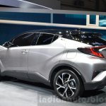 Toyota C-HR rear quarter left at 2016 Geneva Motor Show