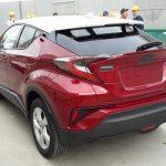 Toyota C-HR rear quarter spied post debut