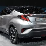 Toyota C-HR silver at 2016 Geneva Motor Show