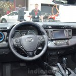 Toyota RAV4 Hybrid Sapphire dashboard