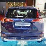 Toyota RAV4 Hybrid Sapphire rear