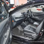 Toyota Vios Exclusive Edition front seats at 2016 BIMS