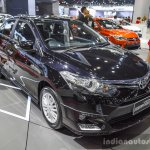 Toyota Vios Exclusive Edition front three quarter at 2016 BIMS