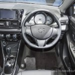 Toyota Vios Exclusive Edition steering wheel at 2016 BIMS