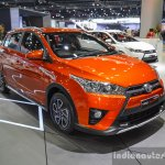 Toyota Yaris TRD Sportivo front quarter at 2016 BIMS