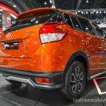 Toyota Yaris TRD Sportivo rear quarter at 2016 BIMS
