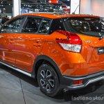 Toyota Yaris TRD Sportivo rear quarters at 2016 BIMS