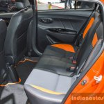 Toyota Yaris TRD Sportivo rear seat at 2016 BIMS