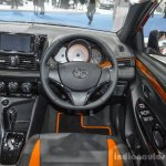 Toyota Yaris TRD Sportivo steering at 2016 BIMS